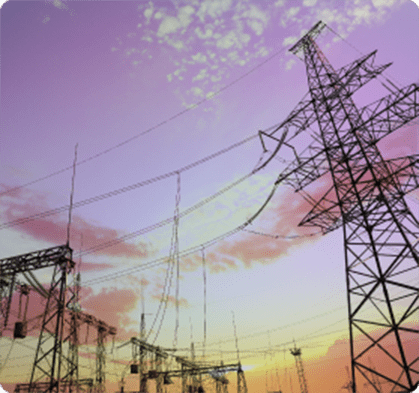 Image with power grids