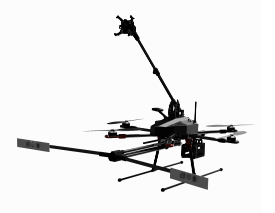Image of an industrial drone