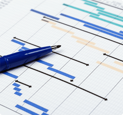 Stock image depicting graphs